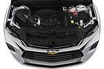 Car Stock 2020 Chevrolet Blazer Premier 5 Door SUV Engine  high angle detail view
