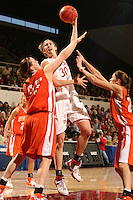 17 March 2007: Brooke Smith during Stanford's 96-58 win over Idaho State in the first round of the NCAA women's basketball tournament at Maples Pavilion in Stanford, CA.