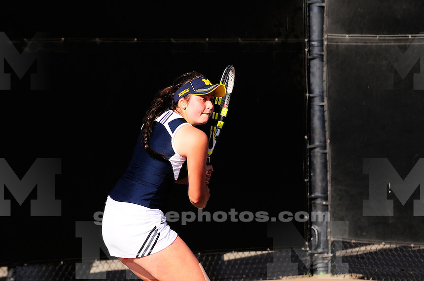 The University of Michigan women's tennis team was defeated 4-2 by USC in the second round of the 2014 NCAA Men's Tennis Tournament hosted by USC in Los Angeles, CA. May 10, 2014