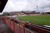 23/06/2000 Blackpool FC Bloomfield Road Ground..Kop from west stand front exit.....© Phill Heywood.