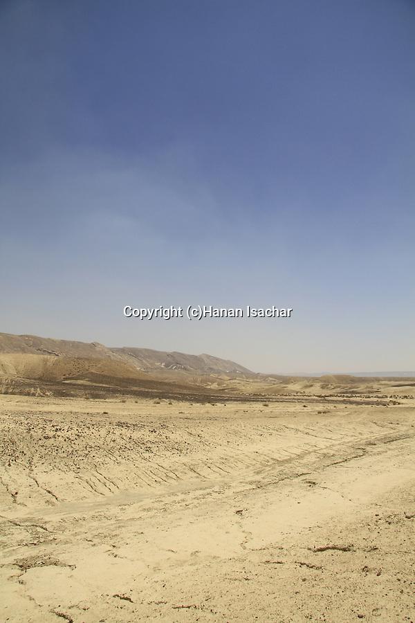 Israel, Negev, Wadi Darokh in Zin Valley
