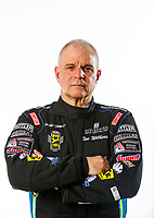 Feb 7, 2018; Pomona, CA, USA; NHRA funny car driver Tim Wilkerson poses for a portrait during media day at Auto Club Raceway at Pomona. Mandatory Credit: Mark J. Rebilas-USA TODAY Sports