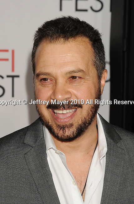 """HOLLYWOOD, Caiifornia - November 04: Edward Zwick, director arrives at the AFI Fest 2010 Opening Night Gala screening of """"Love And Other Drugs"""" at Grauman's Chinese Theatre on November 4, 2010 in Hollywood, California."""