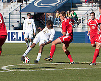 Friday November 12th, 2010. University of Michigan Men's Soccer team defeats Wisconsin 1-0 in the second round of the 2010 Big Ten Men's Soccer Tournament being hosted by Penn State University.