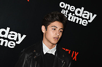 "07 February 2019 - Los Angeles, California - MARCEL RUIZ. Netflix's ""One Day at a Time"" Season 3 Premiere and Global Launch held at Regal Cinemas L.A. LIVE 14. Photo Credit: Billy Bennight/AdMedia"