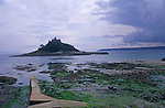 AE2KW1 St Michael's Mount, Cornwall, England