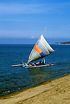 Indonesia: Lombok Island, Prahu boats, Senggigi, photo: yogyin104  .Photo copyright Lee Foster, www.fostertravel.com, 510/549-2202, lee@fostertravel.com