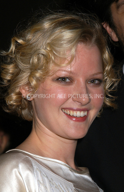 Gretchen Mol at the premiere of 'The Sopranos.' New York, March 2, 2004. Please byline: AJ SOKALNER/ACE Pictures.   ..*PAY-PER-USE*      ....IMPORTANT: Please note that our old trade name, NEW YORK PHOTO PRESS (NYPP), is replaced by new name, ACE PICTURES. New York Photo Press and ACE Pictures are owned by All Celebrity Entertainment, Inc.......All Celebrity Entertainment, Inc:  ..contact: Alecsey Boldeskul (646) 267-6913 ..Philip Vaughan (646) 769-0430..e-mail: info@nyphotopress.com