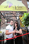 Damien and Sonia Leddy Opening D'Vine Restaurant, Dyer Street...Photo NEWSFILE/Jenny Matthews.(Photo credit should read Jenny Matthews/NEWSFILE)....This Picture has been sent you under the condtions enclosed by:.Newsfile Ltd..The Studio,.Millmount Abbey,.Drogheda,.Co Meath..Ireland..Tel: +353(0)41-9871240.Fax: +353(0)41-9871260.GSM: +353(0)86-2500958.email: pictures@newsfile.ie.www.newsfile.ie.FTP: 193.120.102.198.