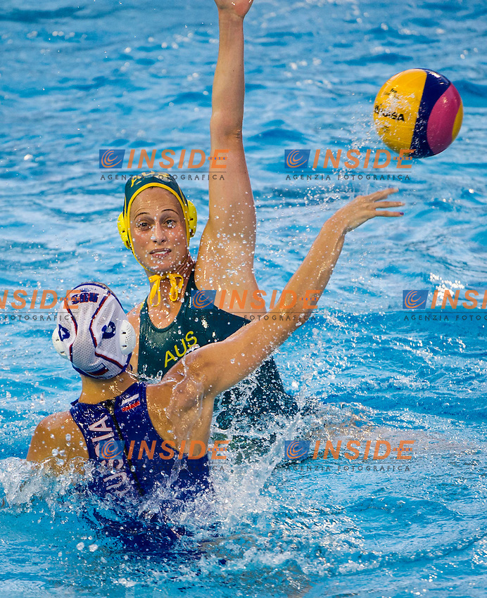 Russia RUS - Australia AUS<br /> 15 FINA World Aquatics Championships<br /> Day-12 Waterpolo Women<br /> Barcelona 19 July - 4 August 2013<br /> Photo G.Barbagelata/Insidefoto/Deepbluemedia.eu