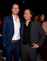 """LOS ANGELES - JULY 08: (L-R) Co-Creator/Showrunner/Executive Producer/Writer Dave Andron aand Executive Producer/Writer Leonard Chang attend the Red Carpet Event for FX's """"Snowfall"""" Season Three Premiere Screening at USC Bovard Auditorium on July 8, 2019 in Los Angeles, California. (Photo by Frank Micelotta/PictureGroup)"""