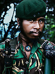 Falintil soldier whose revolutionary name is Halai Sai. <br />