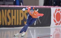 SPEEDSKATING: HAMAR: 28-02-2020, ISU World Speed Skating Championships, Sprint, 500m Ladies, Jorien ter Mors (NED), ©photo Martin de Jong