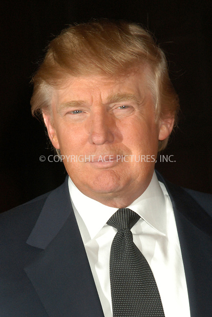 WWW.ACEPIXS.COM . . . . . ....NEW YORK, APRIL 20, 2005....Donald Trump at the Breast Cancer Research Foundation's Annual Red Hot and Pink Party held at the Waldorf Astoria.....Please byline: KRISTIN CALLAHAN - ACE PICTURES.. . . . . . ..Ace Pictures, Inc:  ..Craig Ashby (212) 243-8787..e-mail: picturedesk@acepixs.com..web: http://www.acepixs.com
