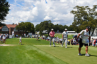Charles Howell III (USA) and Bryson DeChambeau (USA)make their way down 4 during round 2 of the 2019 Tour Championship, East Lake Golf Course, Atlanta, Georgia, USA. 8/23/2019.<br /> Picture Ken Murray / Golffile.ie<br /> <br /> All photo usage must carry mandatory copyright credit (© Golffile | Ken Murray)