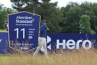 Pablo Larrazabal (ESP) on the 11th during Round 3 of the Aberdeen Standard Investments Scottish Open 2019 at The Renaissance Club, North Berwick, Scotland on Saturday 13th July 2019.<br /> Picture:  Thos Caffrey / Golffile<br /> <br /> All photos usage must carry mandatory copyright credit (© Golffile | Thos Caffrey)