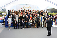 70th Anniversary Photocall - The 70th Annual Cannes Film Festival<br /> CANNES, FRANCE - MAY 23: (Row 9 L-R) Virginie Ledoyen, Ferid Boughedir, Sergio Castellitto, Jia Zhang Ke, Alain Cavalier, Benoit Jacquot, Raoul Peck, Bong Joon Ho, Barbet Schroeder, Jean-Paul Gaultier, Michele Ray Gavras, Brillante Mendoza. (Row 8 L-R) Yorgos Lanthimos, Tonie Marshall, Elia Suleiman, Jerzy Skolimowski, Valeria Golino, Gael Garcia Bernal, Ludivine Sagnier, Matteo Garrone, Celine Sallette, Antonio Banderas, Amos Gitai, Ariane Labed, Edouard Baer. (Row 7 L-R) Laura Morante, Fatih Akin, Andre Dussollier, Tilda Swinton, Adrien Brody, Nicole Garcia, Jean-Pierre Jeunet, Marthe Keller, Michel Hazanavicius, Kristn Scott Thomas, Shu-Qi, Diego Luna, Paul Laverty. (Row 6 L-R) Laetitia Casta, Cecile de France, Colin Farrell, Emmanuelle Beart, Valerie Donzelli, Andre Techine, Marion Cotillard, Nicolas Winding Refn, Emmanuelle Devos, Naomi Kawase, Abderrahmane Sissako, Jacques Doillon, Severine Caneele. (Row 5 L-R) Augustin Almodovar, Gabriel Yared, Fan Bing Bing, Paolo Sorrentino, Maren Ade, Park Chan-Wook, Jessica Chastain, Will Smith, Agnes Jaoui, Reda Kateb, Sandrine Kiberlain, Sandrine Bonnaire, Mohamed Diab, Joachim Lafosse. (Row 4 L-R) Nastassja Kinski, Gaspar Noe, Abel Ferrara, Salma Hayek, Sofia Coppola, Mathieu Kassovitz, Charlize Theron, Maiween, Alfonso Cuaron, Guillermo del Toro, Dario Argento, Alejandro Gonzalez Inarritu, Elle Fanning. (Row 3 L-R) Elodie Bouchez, Emilie Dequenne, Mads Mikkelsen, Emmanuelle Bercot, Christoph Waltz, Berenice Bejo, Juliette Binoche, Uma Thurman, Oliver Stone, Monica Bellucci, Benicio del Toro, Jean-Pierre Leaud, Lambert Wilson. (Row 2 L-R) Andrea Arnold, Claudia Cardinale, George Miller, Liv Ullmann, Catherine Deneuve, Pedro Almodovar, Isabelle Huppert, Nicole Kidman, Vincent Lindon, Kirsten Dunst, Agnes Varda, Diane Kruger. (Row 1 L-R) Laurent Cantet, Cristian Mungiu, Jerry Schatzberg, Claude Lelouch, Michael Haneke, Roman Polanski, Jane Campion, K
