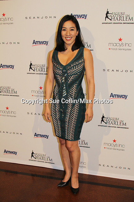 Michelle Kwan at The 11th Annual Skating with the Stars Gala - a benefit gala for Figure Skating in Harlem on April 11, 2016 on Park Avenue in New York City, New York with many Olympic Skaters and Celebrities. (Photo by Sue Coflin/Max Photos)