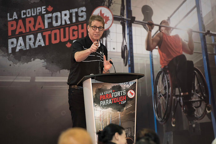FEBRUARY 23,  2017: TORONTO, ON, The inaugural ParaTough Cup was held at the University of Toronto, sixteen corporate teams contested for the right to claim the prize.