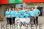 Walk for Leukaemia: Pictured at the end of the walk for Leukaemia in aid of Crumblin's Childrens Hospital were the walkers who had walked from Ardagh in Co. Limerick to Listowel on Saturday last.