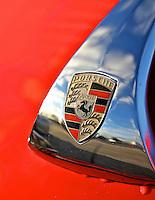 Porsche Speedster Hood Ornament at HSR Historics Fall Classic