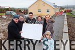 Knocknagoshel GAA Club and and Knocknagoshel Sport and Recreational Association Ltd., are expanding their gym due to increasing demand in the area. Pictured were: Dan Neligan (Chairman of Knocknagoshel Sports and Recreation Association and Development Officer with Knocknagoshel GAA), Tom Greaney (Director), Lee Roche (Builder), Kathleen Cremins (Manager), Michelle Keane and Luke Darcy.