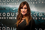 Actress Ana Morgade at the premiere of the movie Exodus in Madrid. 2014/12/04. Samuel de Roman / Photocall3000.