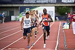 EUGENE, OR - JUNE 09: Emmanuel Korir of the University of Texas El Paso races to a first place finish in the 800 meter run during the Division I Men's Outdoor Track & Field Championship held at Hayward Field on June 9, 2017 in Eugene, Oregon. Korir won the event with a 1:45.03 time. (Photo by Jamie Schwaberow/NCAA Photos via Getty Images)