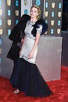 Margot Robbie<br /> arriving for the BAFTA Film Awards 2019 at the Royal Albert Hall, London<br /> <br /> ©Ash Knotek  D3478  10/02/2019