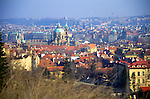 View over the city centre, Prague, Czech Republic