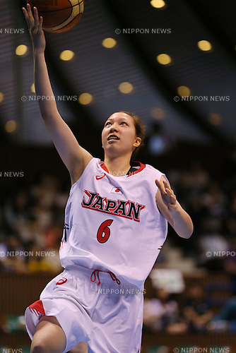 Kana Motoyama (JPN), <br /> JUNE 30, 2013 - Basketball : <br /> International Basketball Japan Games 2013 <br /> between Japan Women's 78-61 Mozambique Women's <br /> at 2nd Yoyogi Gymnasium, Tokyo, Japan. <br /> (Photo by YUTAKA/AFLO SPORT)