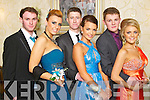 CLASSY: Pictured at the Mounthawk debs at the Abbeygate on Thursday night are from l-r: Niall Sheehy, Una O'Sullivan, Scott Monaghan, Rachel Browne, Brian O'Sullivan with Mckenzie Keane.