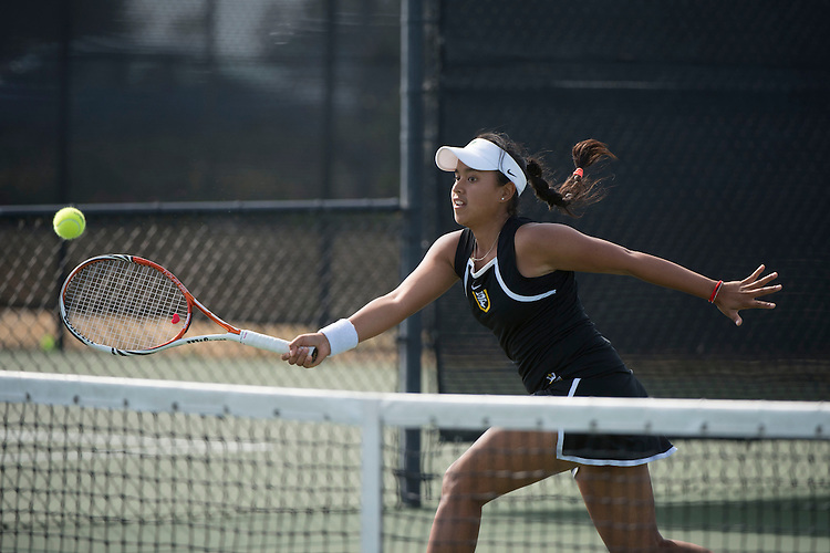 April 23, 2014; San Diego, CA, USA; San Francisco Dons player Andrea Ka during the WCC Tennis Championships at Barnes Tennis Center.