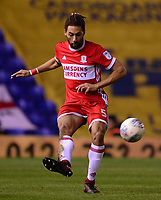 Ryan Shotton of Middlesbrough in action during the Sky Bet Championship match between Birmingham City and Middlesbrough at St Andrews, Birmingham, England on 6 March 2018. Photo by Bradley Collyer / PRiME Media Images.