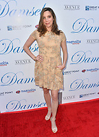 """Summer Chastant at the premiere for """"Damsel"""" at the Arclight Hollywood, Los Angeles, USA 13 June 2018<br /> Picture: Paul Smith/Featureflash/SilverHub 0208 004 5359 sales@silverhubmedia.com"""