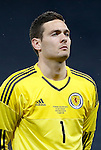 Craig Gordon of Scotland during the Vauxhall International Challenge Match match at Hampden Park Stadium. Photo credit should read: Simon Bellis/Sportimage
