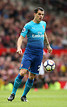 Granit Xhaka of Arsenal during the premier league match at the Old Trafford Stadium, Manchester. Picture date 29th April 2018. Picture credit should read: Simon Bellis/Sportimage