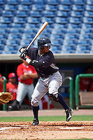 New York Yankees Ricardo Ferreira (74) during an instructional league game against the Philadelphia Phillies on September 29, 2015 at Brighthouse Field in Clearwater, Florida.  (Mike Janes/Four Seam Images)