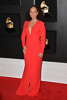 LOS ANGELES, CA - FEBRUARY 10: Alicia Keys at the 61st Annual Grammy Awards at the Staples Center in Los Angeles, California on February 10, 2019. <br /> CAP/MPIFS<br /> &copy;MPIFS/Capital Pictures