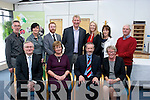 Launch<br /> Sean Kelly, MEP (seated 2nd Rt) attending the Launch of the new post graduate course at IT Tralee last Friday afternoon (seated) L-R Oliver Murphy, President IT Tralee, Peggy O'Shea (teacher) Sean Kelly, MEP, and Patricia Griffin, Down Syndrome Kerry (back) L-R Gerard O'Carroll, IT Tralee, Gillian O'Sullivan, IT Tralee, Ronan Redican, Chairman, Down Syndrome Kerry, Pat Garty, IT Tralee, Grainne De Paor, Down Syndrome Ireland, with Ann Ladden and Kevin Griffin both Down Syndrome Kerry.