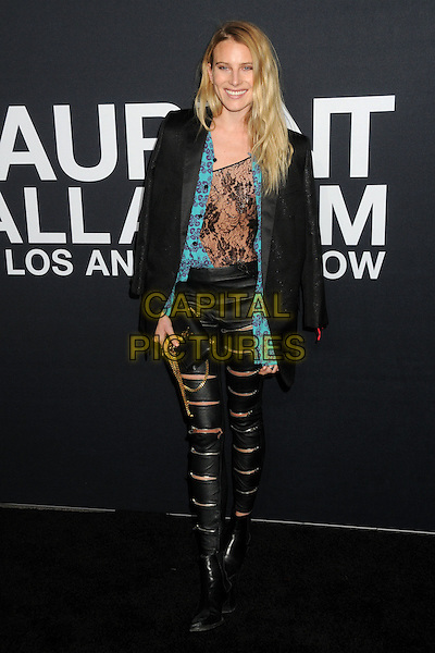 10 February 2016 - Los Angeles, California - Dree Hemingway. Saint Laurent At The Palladium held at the Hollywood Palladium. <br /> CAP/ADM/BP<br /> &copy;BP/ADM/Capital Pictures