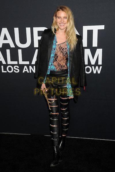 10 February 2016 - Los Angeles, California - Dree Hemingway. Saint Laurent At The Palladium held at the Hollywood Palladium. <br /> CAP/ADM/BP<br /> &copy;BP/ADM/Capital Pictures