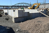 New Haven Rail Yard, Independent Wheel True Facility. CT-DOT Project # 0300-0139, New Haven CT..Photograph of Construction Progress Photo Shoot 15 on 21 September 2012. One of 52 Images Captured this Submission.