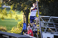 FIERLJEPPEN: IT HEIDENSKIP: 17-08-2016, ©foto Martin de Jong