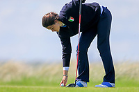 Alessandra Fanali (ITA) during the second round of the Irish Womans Open Strokeplay Championship, Co Louth Golf Club, Baltray, Drogheda, Co Louth, Ireland. 12/05/2018.<br /> Picture: Golffile | Fran Caffrey<br /> <br /> <br /> All photo usage must carry mandatory copyright credit (&copy; Golffile | Fran Caffrey)