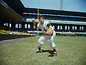 Portrait Nellie Fox of the Chicago White Sox from the 1959 season.
