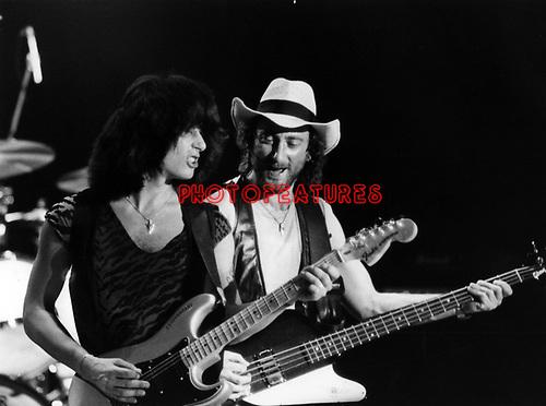Rainbow 1981 Joe Lynn Turner and Roger Glover