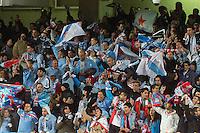 Celta de Vigo's supporters during La Liga match.November 23,2013. (ALTERPHOTOS/Mikel)