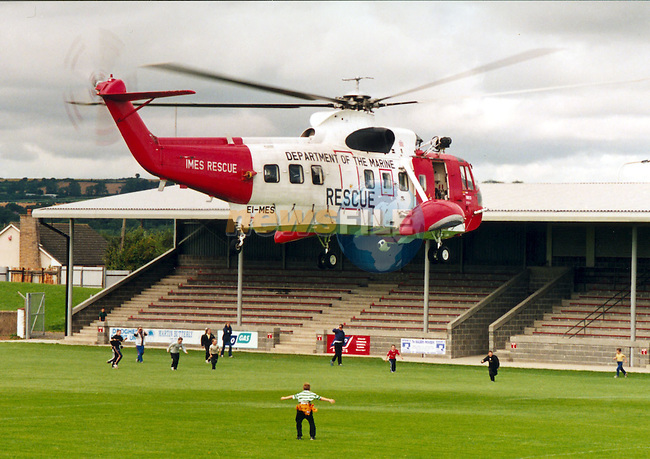 Department of the Marine .IMES Helicopter.Pic Fran Caffrey / Newsfile