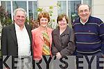 Pictured attending the Business briefing on the Stability Treaty in the Dromhall Hotel, Killarney, on Friday from left: Con Griffin (Killorglin), Nora Moynihan (Headford), Mary Gunn (Killorglin) and Pat Gunn (Killorglin)..